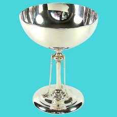 An Antique Silver Golfing Trophy, 1912.