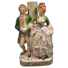 Victorian Style Lovers Figurine Lamp Base