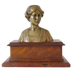 Ferdinand Preiss, bust of a woman, ca. 1920