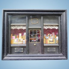 Miniature Diorama Antique French Book Store Filled with Miniatures, Modern (XX Century)