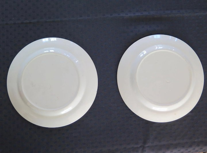Two Florio Plates Antique Sicilian Ceramic Early 1900s : sicilian dinnerware - Pezcame.Com