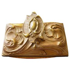 French Art Nouveau Blotter, Early 1900s