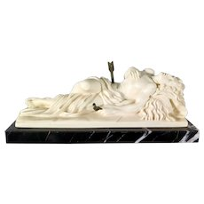 Saint Sebastian Statue by Gino Ruggeri, Italy Mid Century