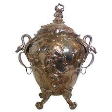 A Large Art Nouveau Punch Bowl, Early 1900s