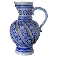 Salt Glazed Stoneware Jug, Westerwald, ca. 1880