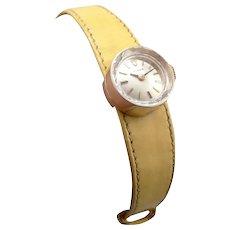 Vintage Ladies 14K Gold ROLEX Chameleon WRISTWATCH Wrist Watch SWISS 17j Mid Mod