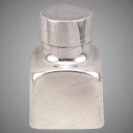 Vintage Tiffany & Co. STERLING Silver Stamp or Envelope Moistener Bottle 26.6g