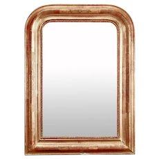 Late 19th Century Louis Philippe Gilt Mirror