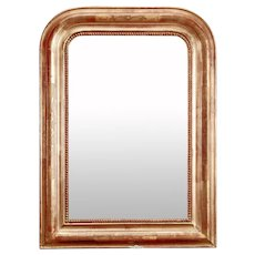 Late 19th Century Louis Philippe Gilt Mirror