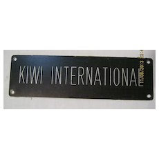 KIWI International Airlines Sign