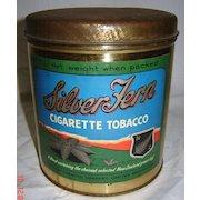 Silver Fern 1 lb Cigarette Tobacco Tin - Early 1900's