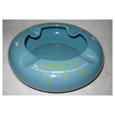 BOAC Airlines Souvenir  Ashtray Circa 1960