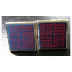 Bitish Airways Souvenir Cufflinks