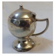 Sterling Silver Salt Pot - Birmingham 1906