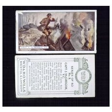 Cigarette Cards -VC 's WD & HO Wills Full Set 50