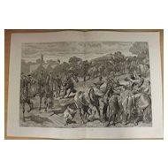 Barnet Fair - The Graphic 1887