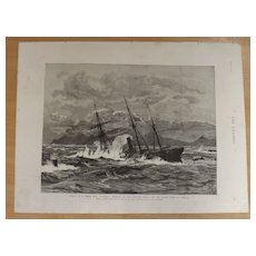 Wreck Of The Tasmania - The Graphic 1887