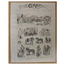 Buffalo Bills Wild West Show - The Graphic 1887