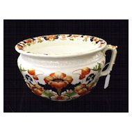 Gorgeous Victorian /Edwardian Chamber Pot