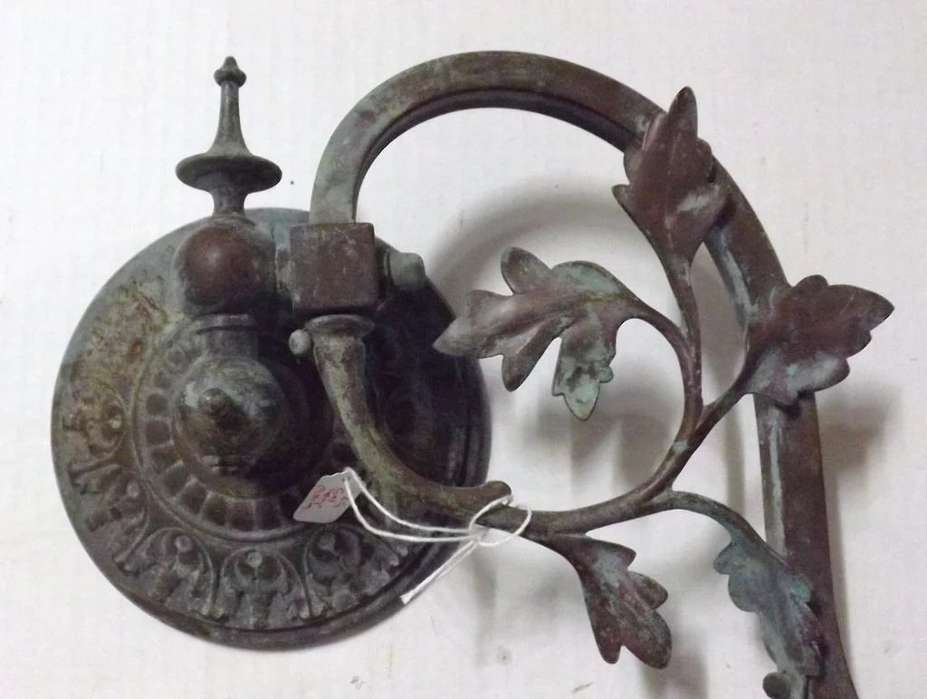 Victorian Gas Lamp Wall Bracket Sconce Antique Goodies