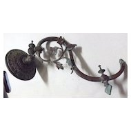 Victorian Gas Lamp Wall Bracket  / Sconce