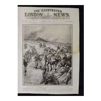 WWI  French Army's Magnificent Fight - Illustrated London News 1918