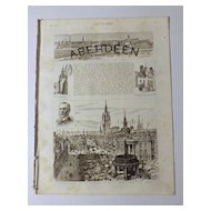 Aberdeen -Special Feature -The Graphic 1885