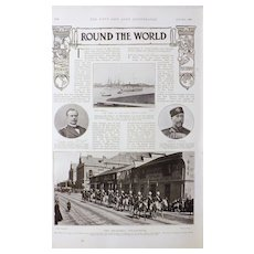 China and The Shanghai Volunteers - The Navy & Army Illustrated 1900