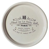 L'Hotel De La Petite Fleur Paris - Advertising Dish