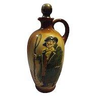 Royal Doulton Kingsware 'Tony Weller' Whisky Flask
