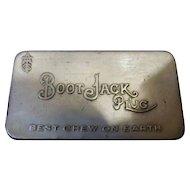 """Chewing Tobacco Tin  'Bootjack Plug"""" Circa 1900"""