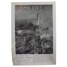 Special Feature - The Fiery Fate of The CRYSTAL PALACE  - The Sphere 1936