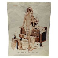 Risque French Cartoon -Le Sourire Magazine 1920's-1930's