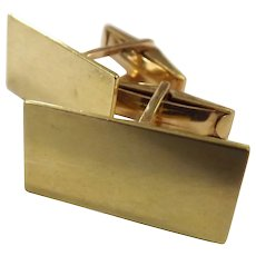 Superb Gentlemen 's 18 Carat Gold Cufflinks