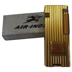 Air India Advertising Cigarette Lighter - Mint Unused