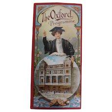 Theatre Programme 'The Oxford' - London - 1910 - 1920