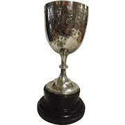 Victorian Sterling Silver Trophy Cup -  Hall Marked For  Sheffield 1901