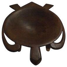 Large Samoan 'Turtle' Kava Bowl