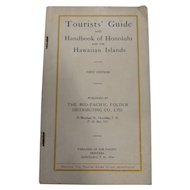 1914 Hawaiian Islands & Honolulu Tourist Guide