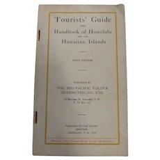 1914 Hawaiian Islands & Honolulu Tourist Guide