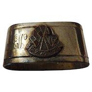 M.V. Aorangi Napkin Ring