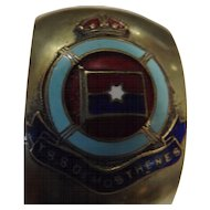 TSS Demostenes Souvenir Napkin Ring