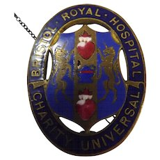 Bristol Royal Hospital Nurses Badge