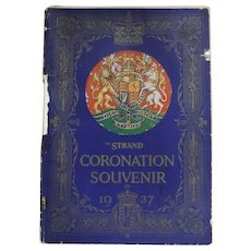 King George V1 Coronation Record  1937 - The Strand Magazine