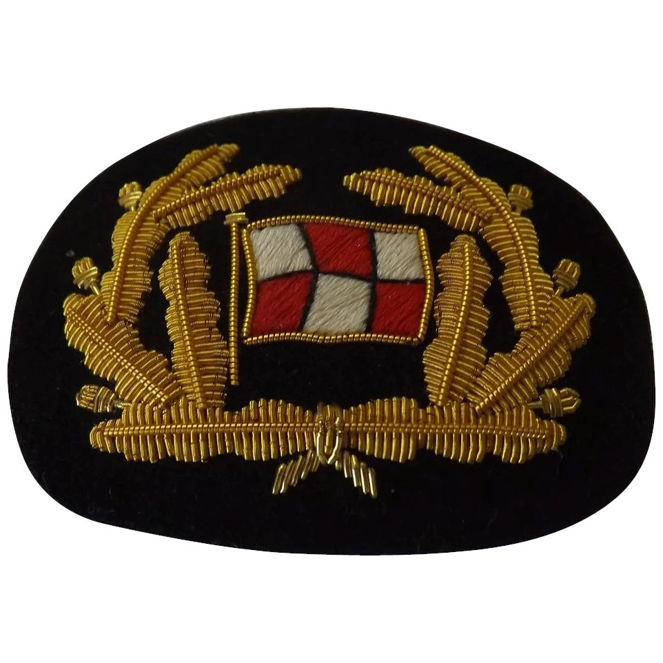 Canadian Pacific Shipping Line Cap Insignia