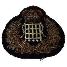 British H.M. Customs Cap Insignia