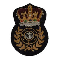 British Royal Navy Royal Fleet Auxiliary Cap Insignia  - Chief Petty Officer