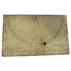 ELLIOTT Bros Survey Clinometer Circa 1865-75