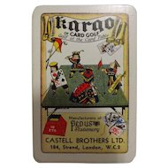 Kargo -Vintage Card Game for Golfers