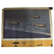 WW11 USA Original Propaganda Photographic Print - Douglas A-24 BANSHEE
